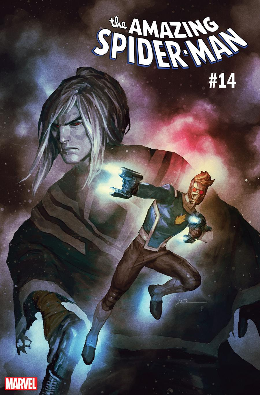 Amazing Spider-Man Vol 5 #14 Cover B Variant Gerald Parel Guardians Of The Galaxy Cover