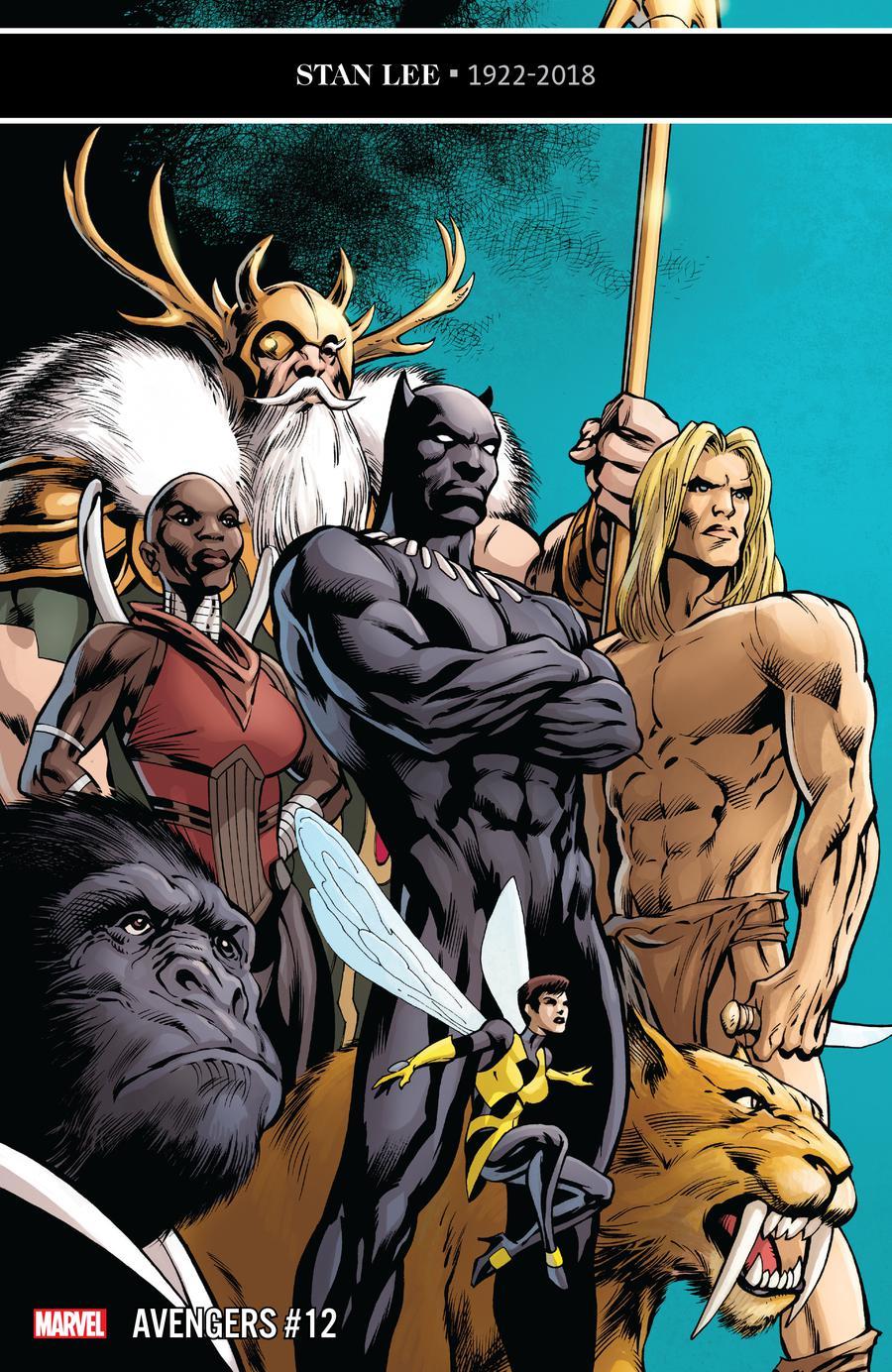Avengers Vol 7 #12 Cover A Regular Alan Davis Cover