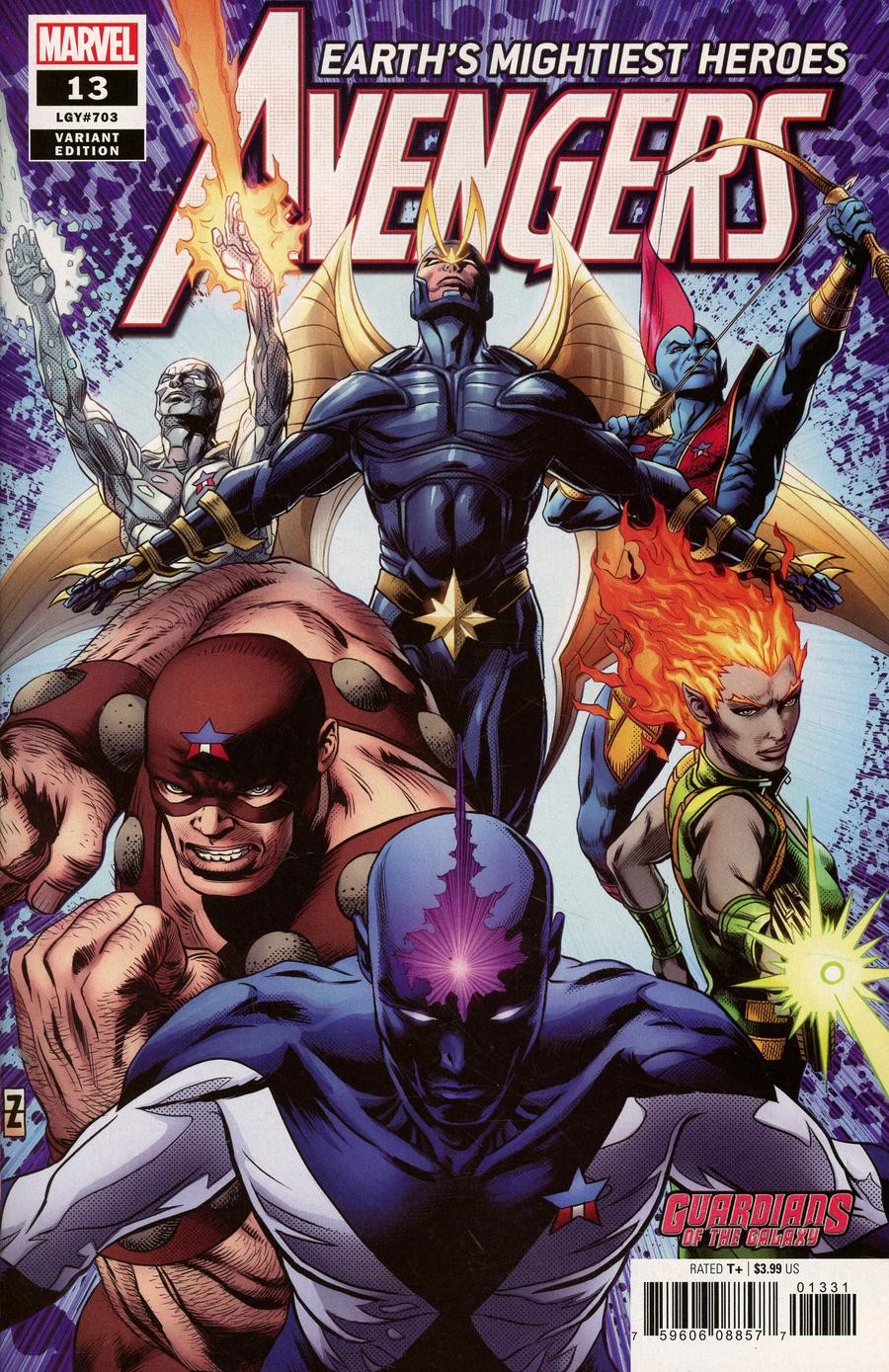 Avengers Vol 7 #13 Cover B Variant Patrick Zircher Guardians Of The Galaxy Cover