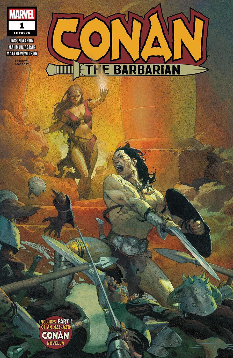 Conan The Barbarian Vol 4 #1 Cover A 1st Ptg Regular Esad Ribic Cover