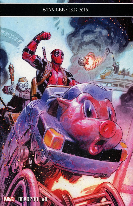 Deadpool Vol 6 #8 Cover A Regular Nic Klein Cover