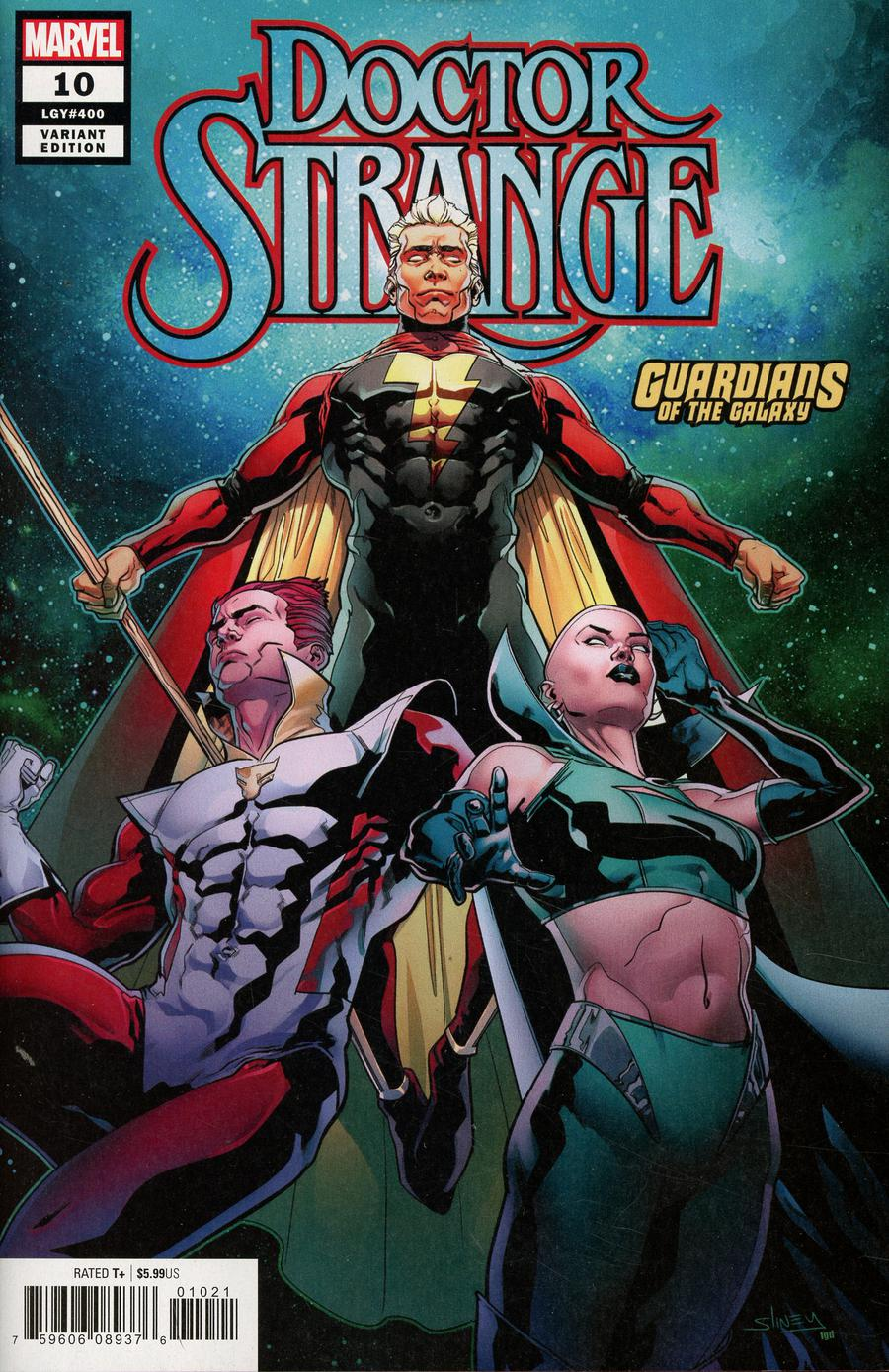 Doctor Strange Vol 5 #10 Cover B Variant Will Sliney Guardians Of The Galaxy Cover