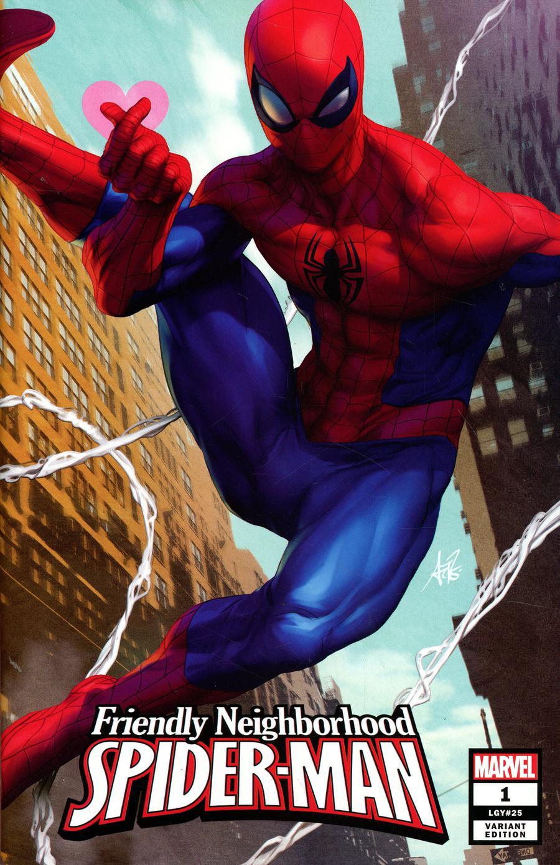 Friendly Neighborhood Spider-Man Vol 2 #1 Cover B Variant Stanley Artgerm Lau Cover