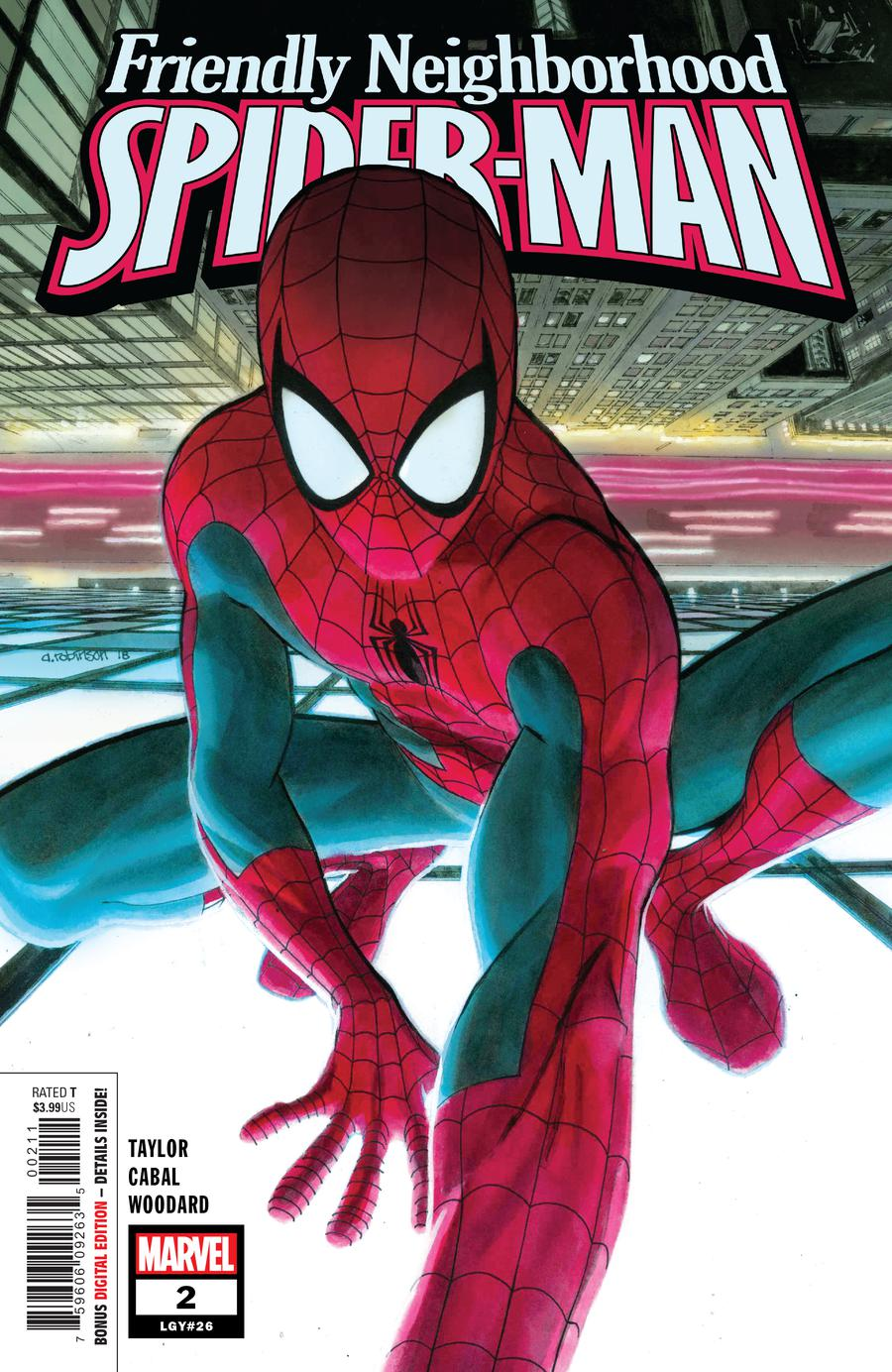Friendly Neighborhood Spider-Man Vol 2 #2 Cover A Regular Andrew C Robinson Cover