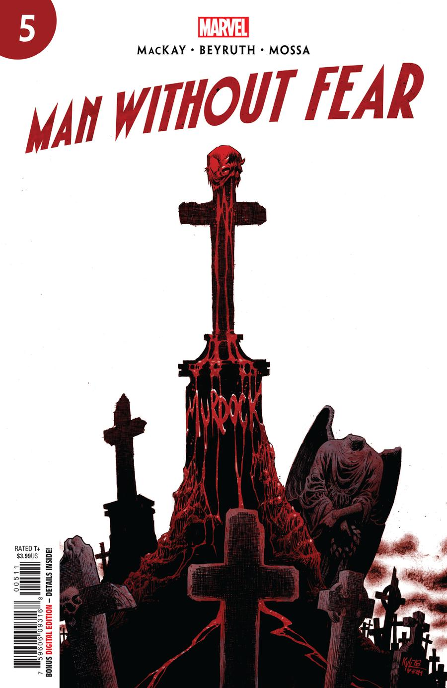 Man Without Fear #5 Cover A Regular Kyle Hotz Cover