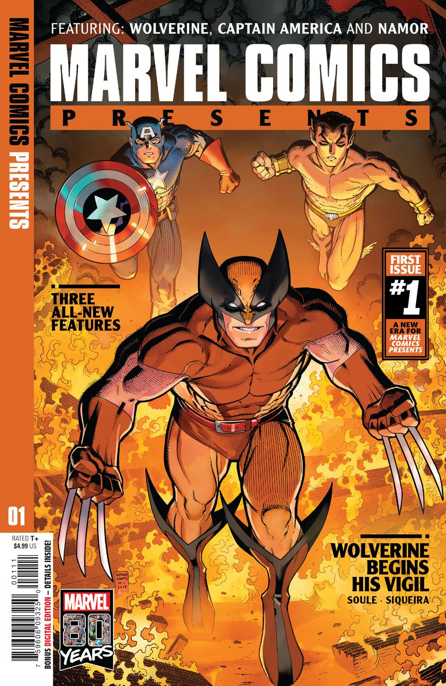 Marvel Comics Presents Vol 3 #1 Cover A 1st Ptg Regular Arthur Adams & Federico Blee Cover