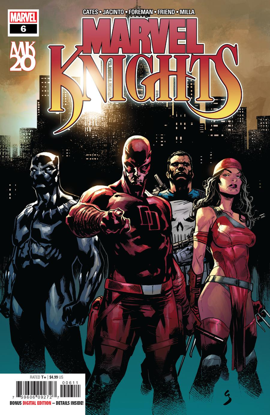 Marvel Knights 20th #6 Cover A Regular Geoff Shaw Cover