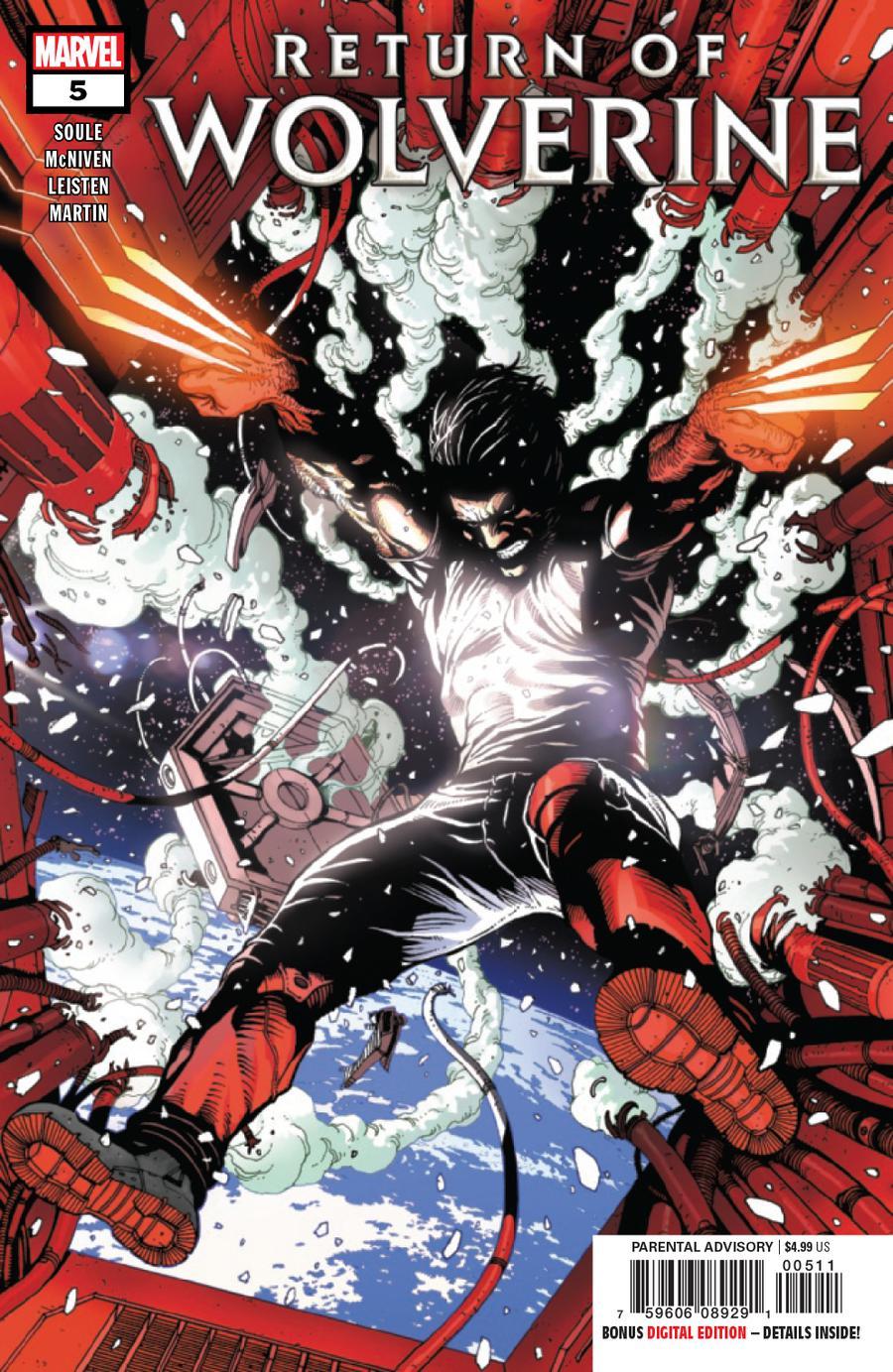 Return Of Wolverine #5 Cover A Regular Steve McNiven Cover