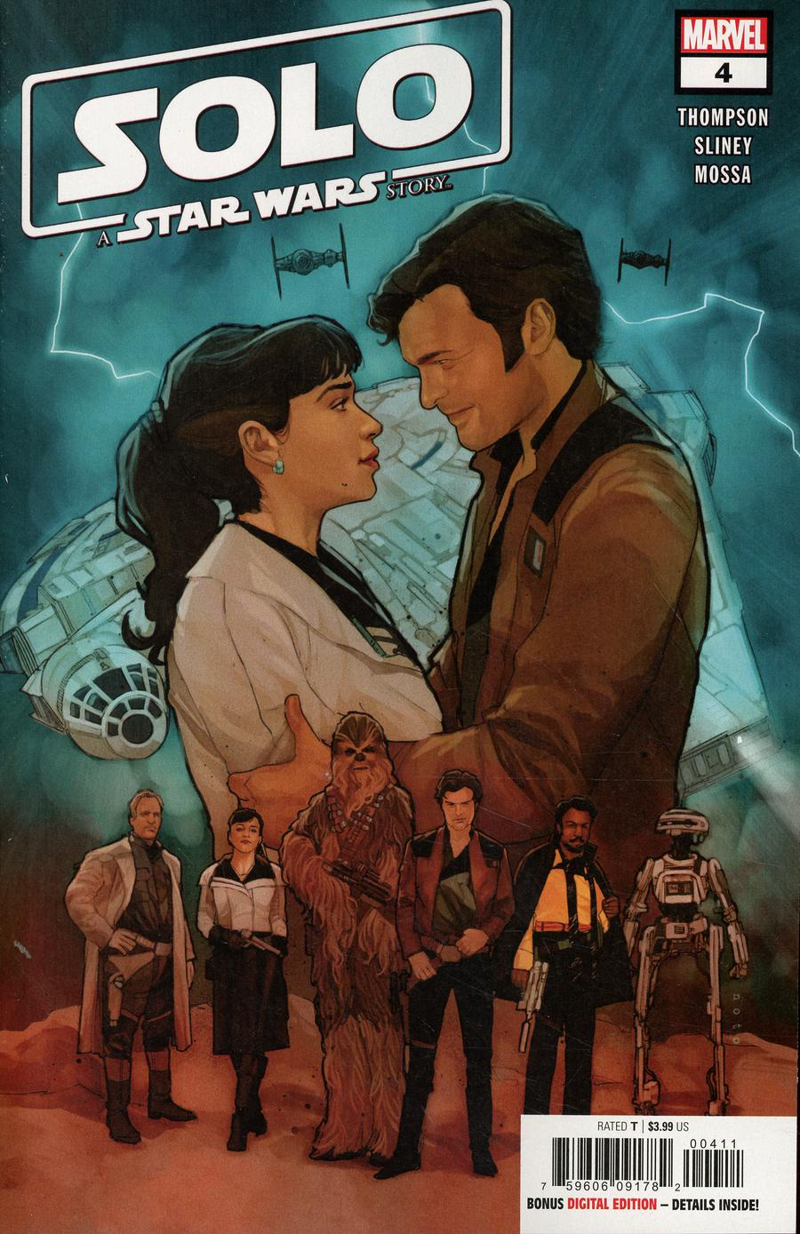 Solo A Star Wars Story Adaptation #4 Cover A Regular Phil Noto Cover