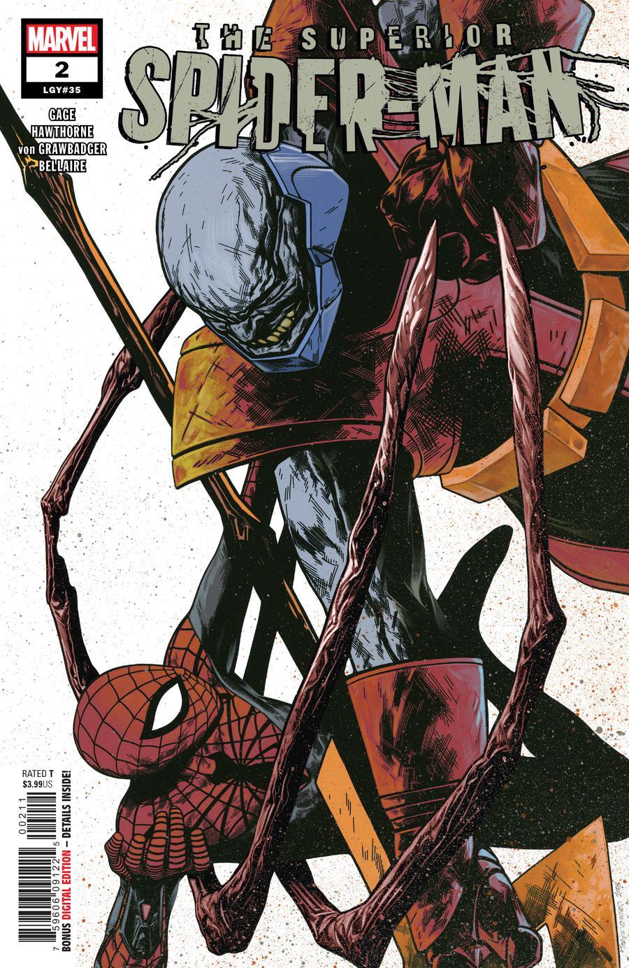 Superior Spider-Man Vol 2 #2 Cover A Regular Travis Charest Cover