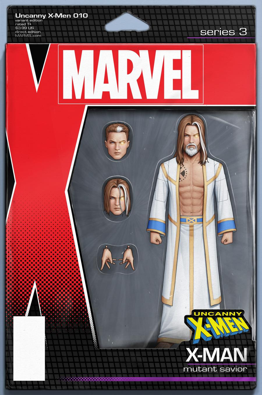 Uncanny X-Men Vol 5 #10 Cover B Variant John Tyler Christopher Action Figure Cover