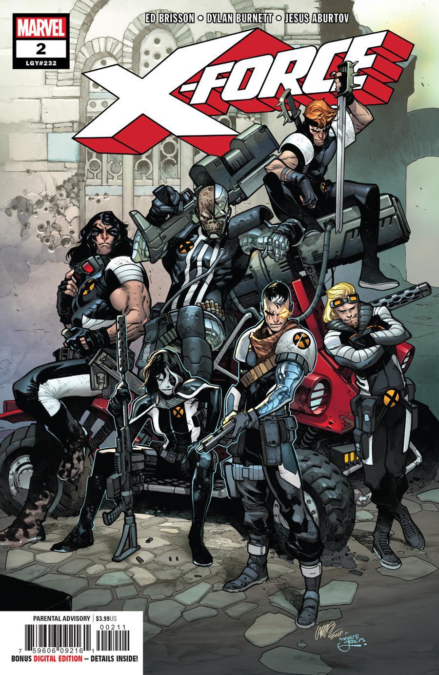 X-Force Vol 5 #2 Cover A Regular Pepe Larraz Cover