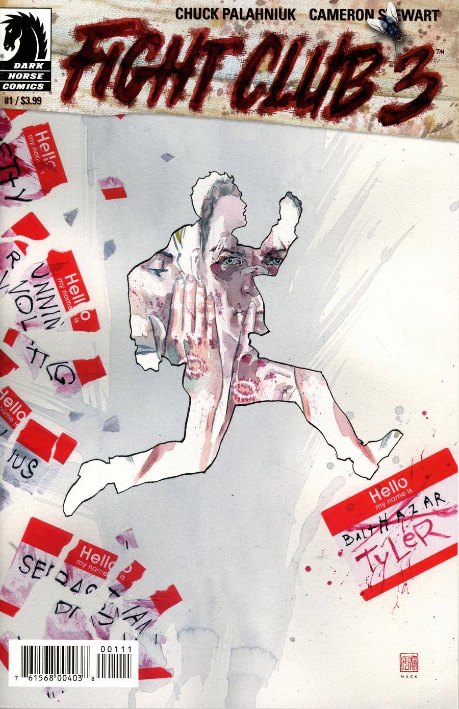 Fight Club 3 #1 Cover A Regular David Mack Cover