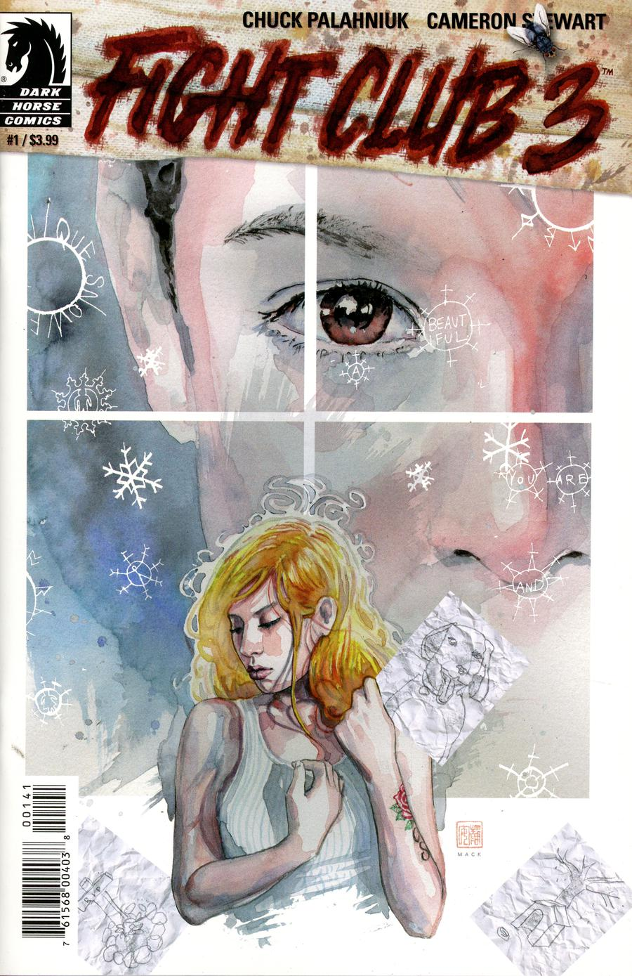 Fight Club 3 #1 Cover D Variant David Mack Cover