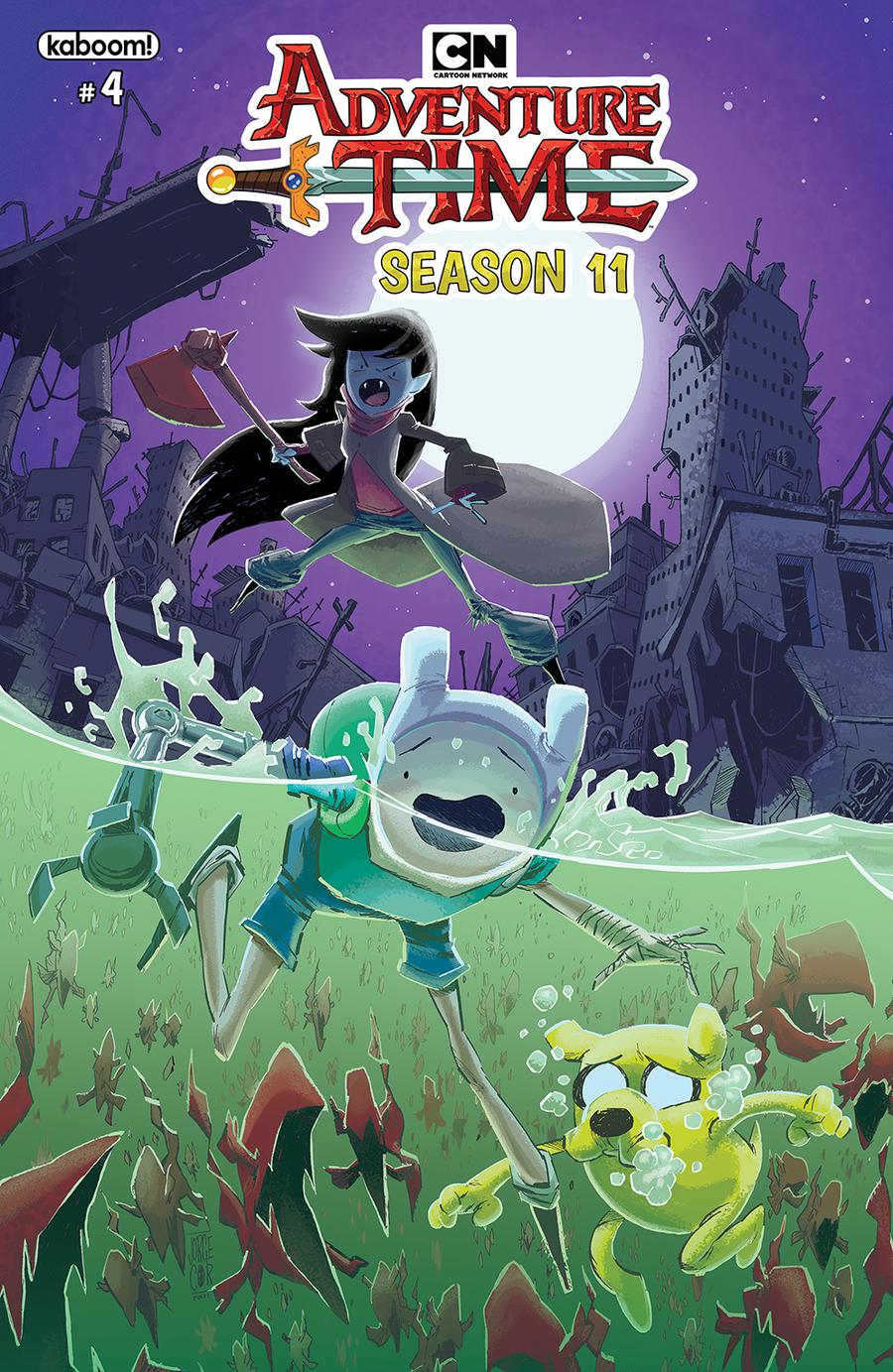Adventure Time Season 11 #4 Cover A Regular Jorge Corona Cover