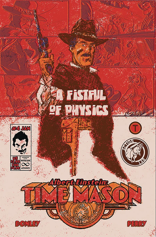 Albert Einstein Time Mason #4 Cover B Variant Tony Donley Cover