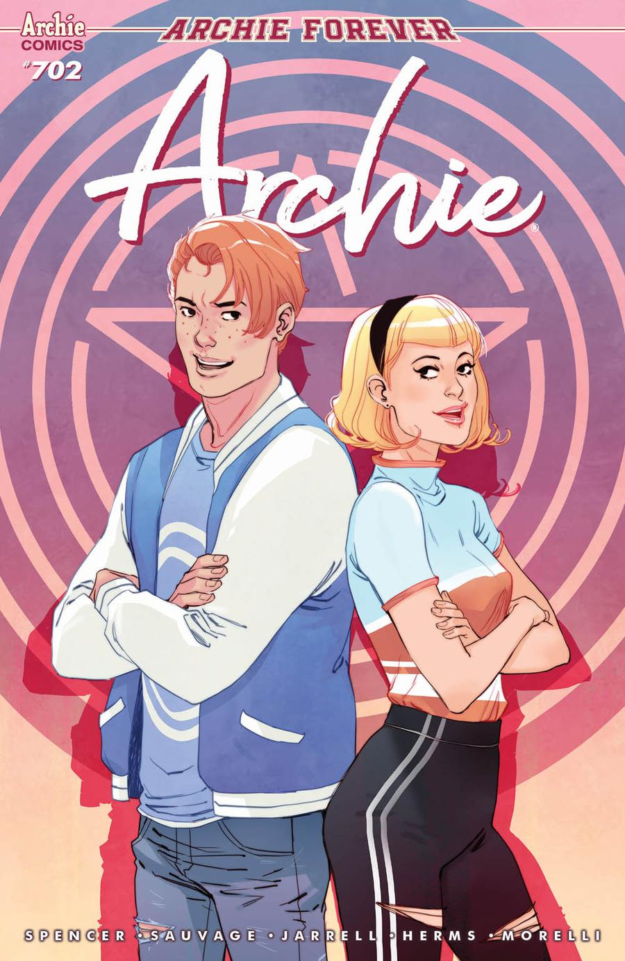 Archie Vol 2 #702 Cover A Regular Marguerite Sauvage Cover