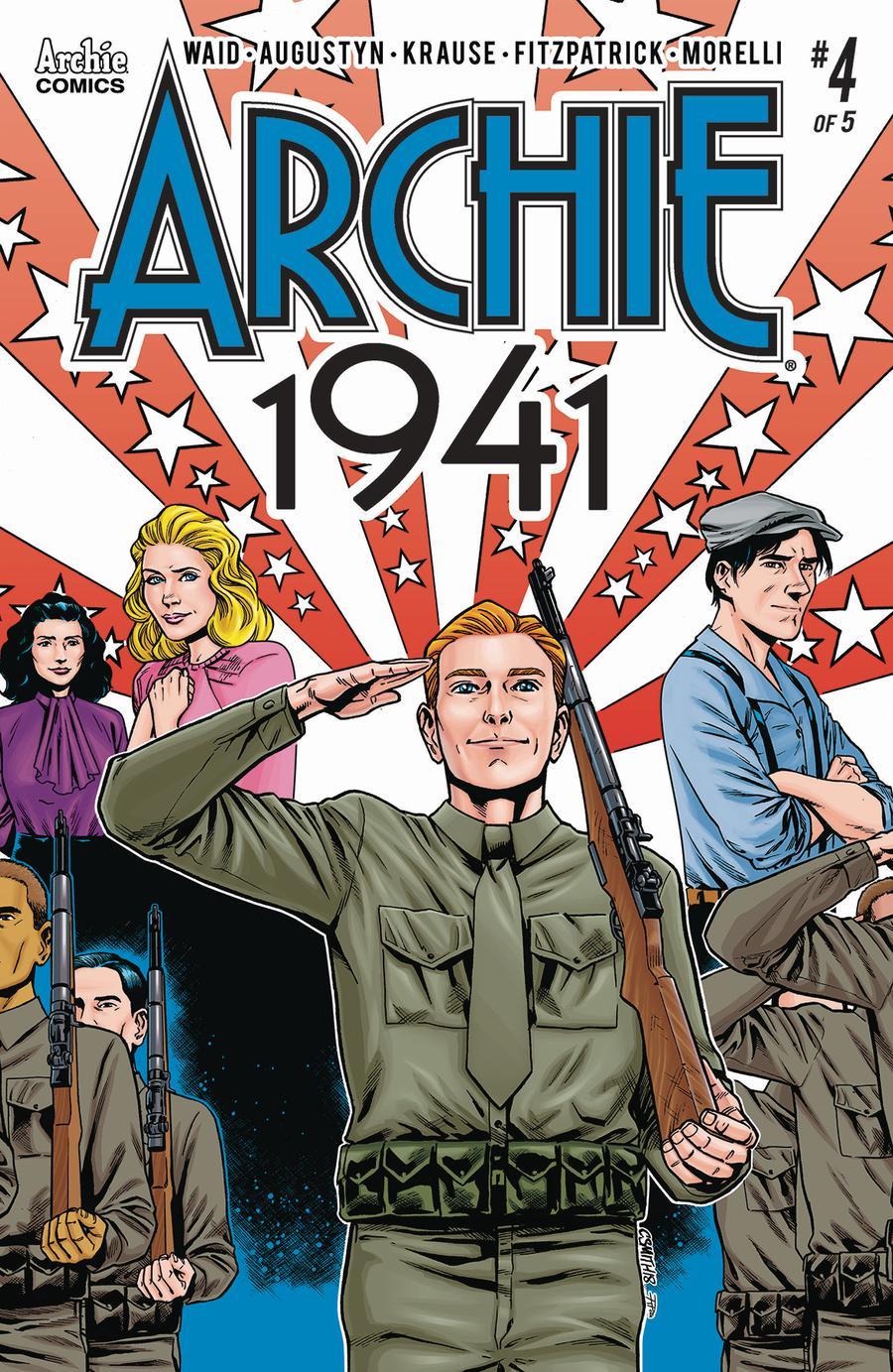 Archie 1941 #4 Cover C Variant Cory Smith & Rosario Tito Pena Cover