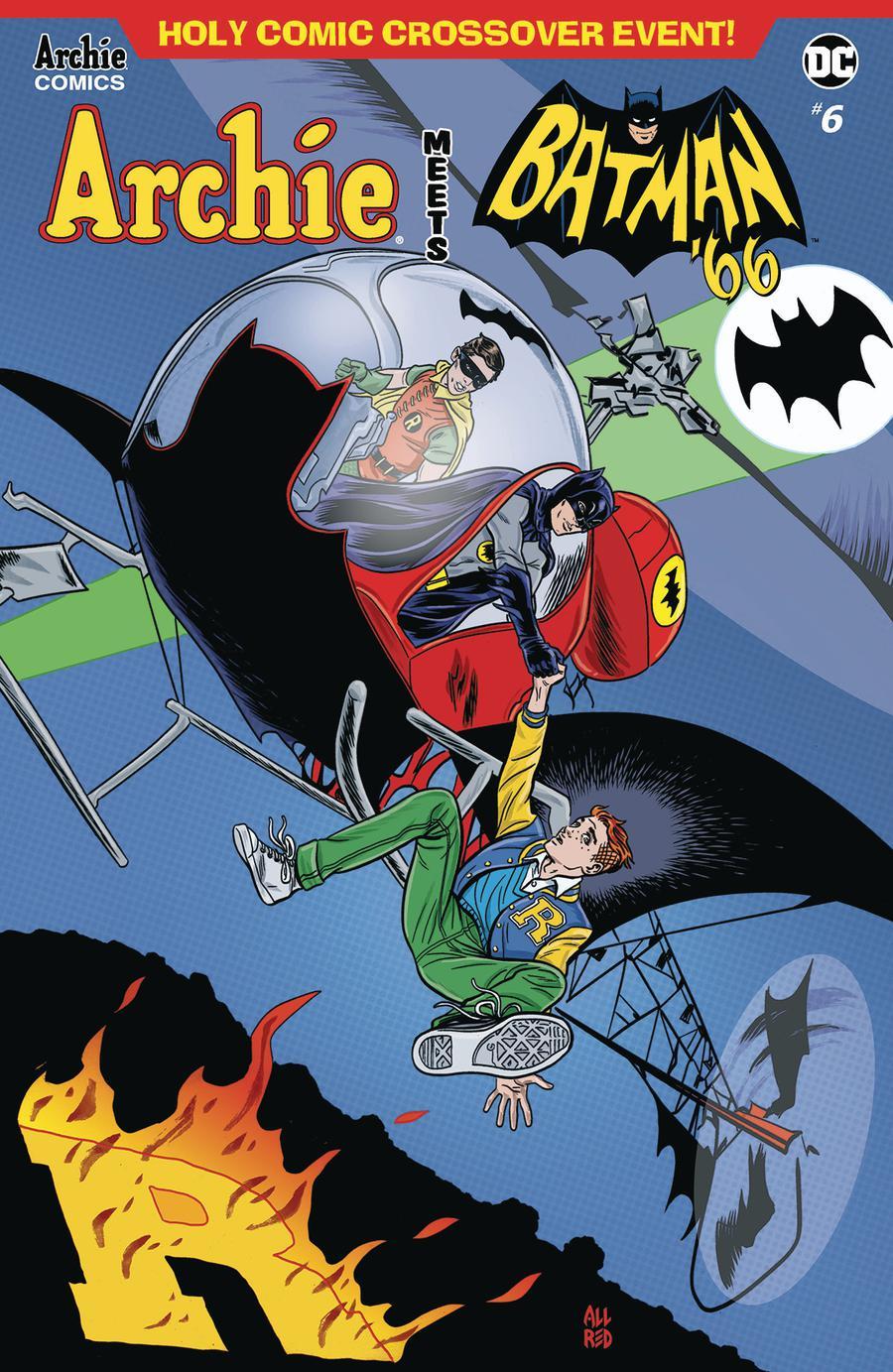 Archie Meets Batman 66 #6 Cover A Regular Michael Allred & Laura Allred Cover