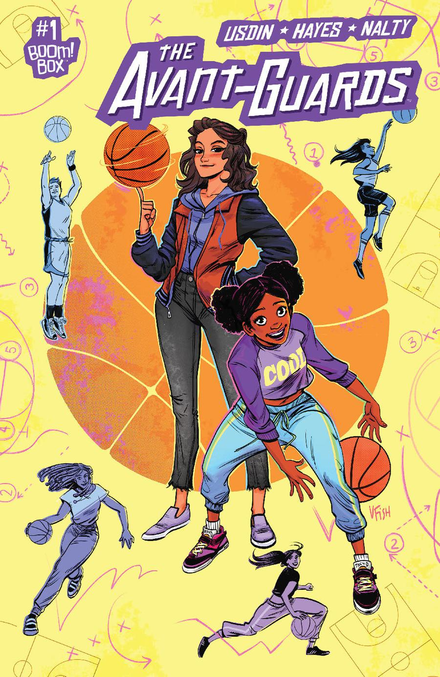 Avant-Guards #1 Cover B Variant Veronica Fish Preorder Cover