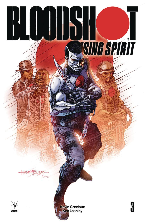 Bloodshot Rising Spirit #3 Cover B Variant Harvey Tolibao Cover
