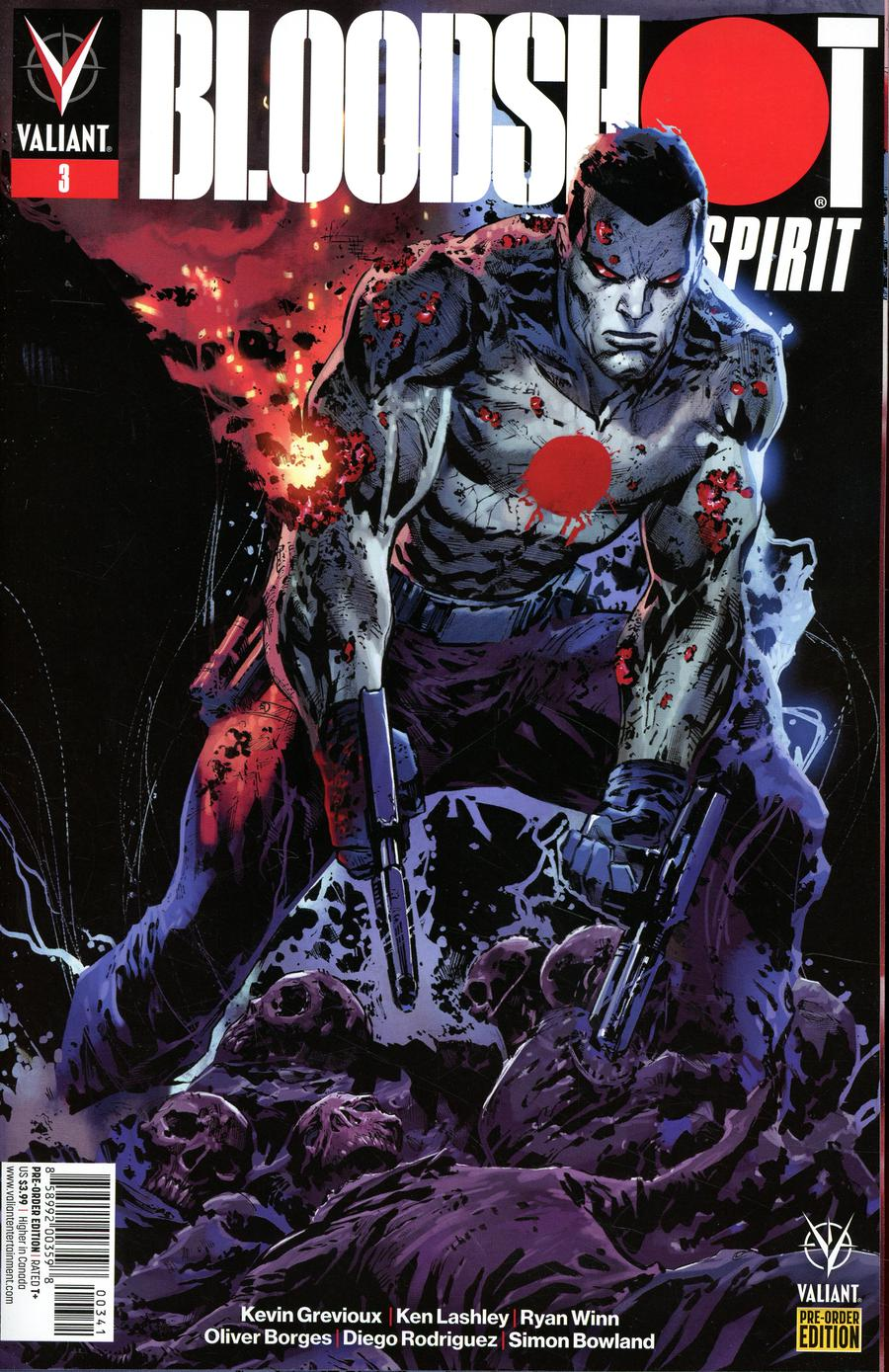 Bloodshot Rising Spirit #3 Cover C Variant Ken Lashley Cover