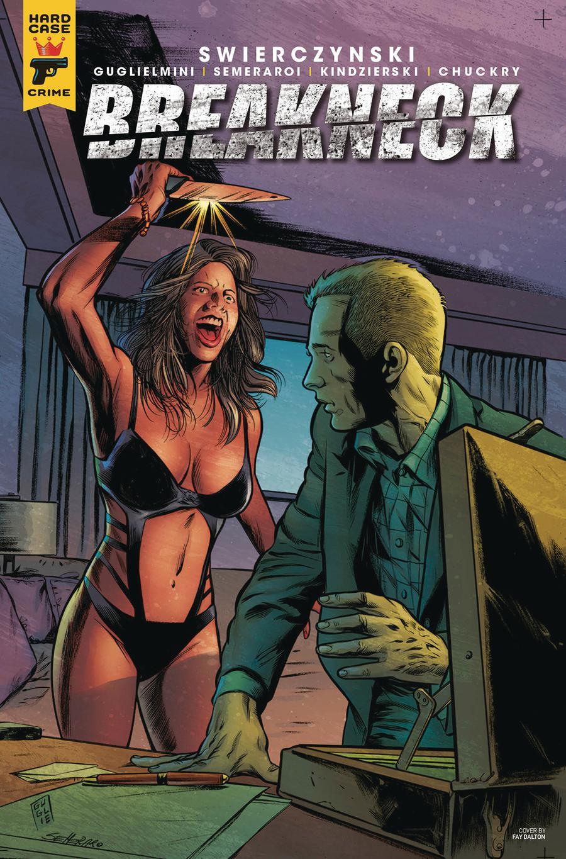 Hard Case Crime Breakneck #2 Cover A Regular Simone Guglielmini Cover