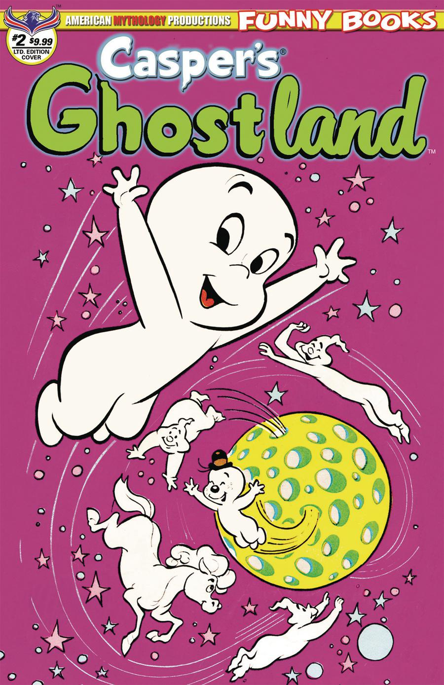 Caspers Ghostland Vol 2 #2 Cover C Variant Retro Animation Limited Edition Cover