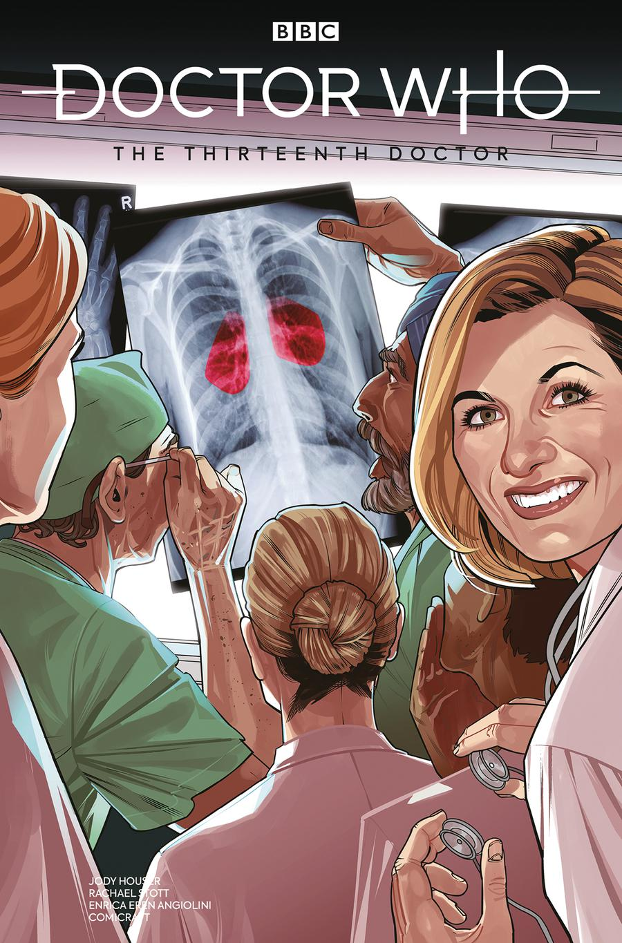 Doctor Who 13th Doctor #4 Cover C Variant Rachael Stott Cover