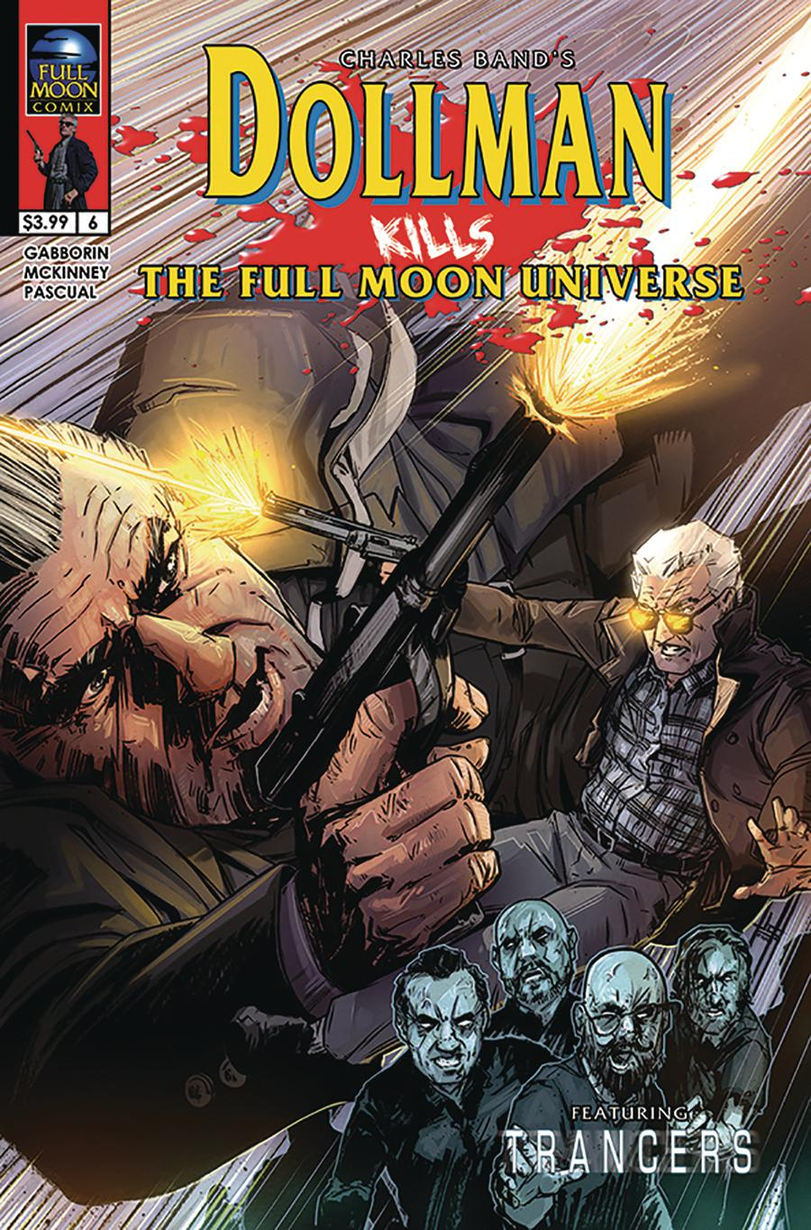 Dollman Kills The Full Moon Universe #6 Cover A Regular Jason Strutz Cover