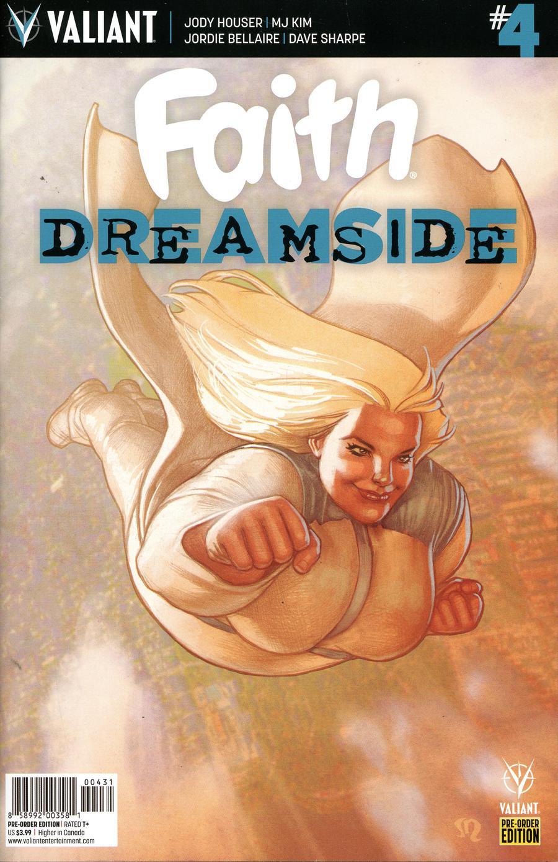 Faith Dreamside #4 Cover C Variant Stephane Roux Cover