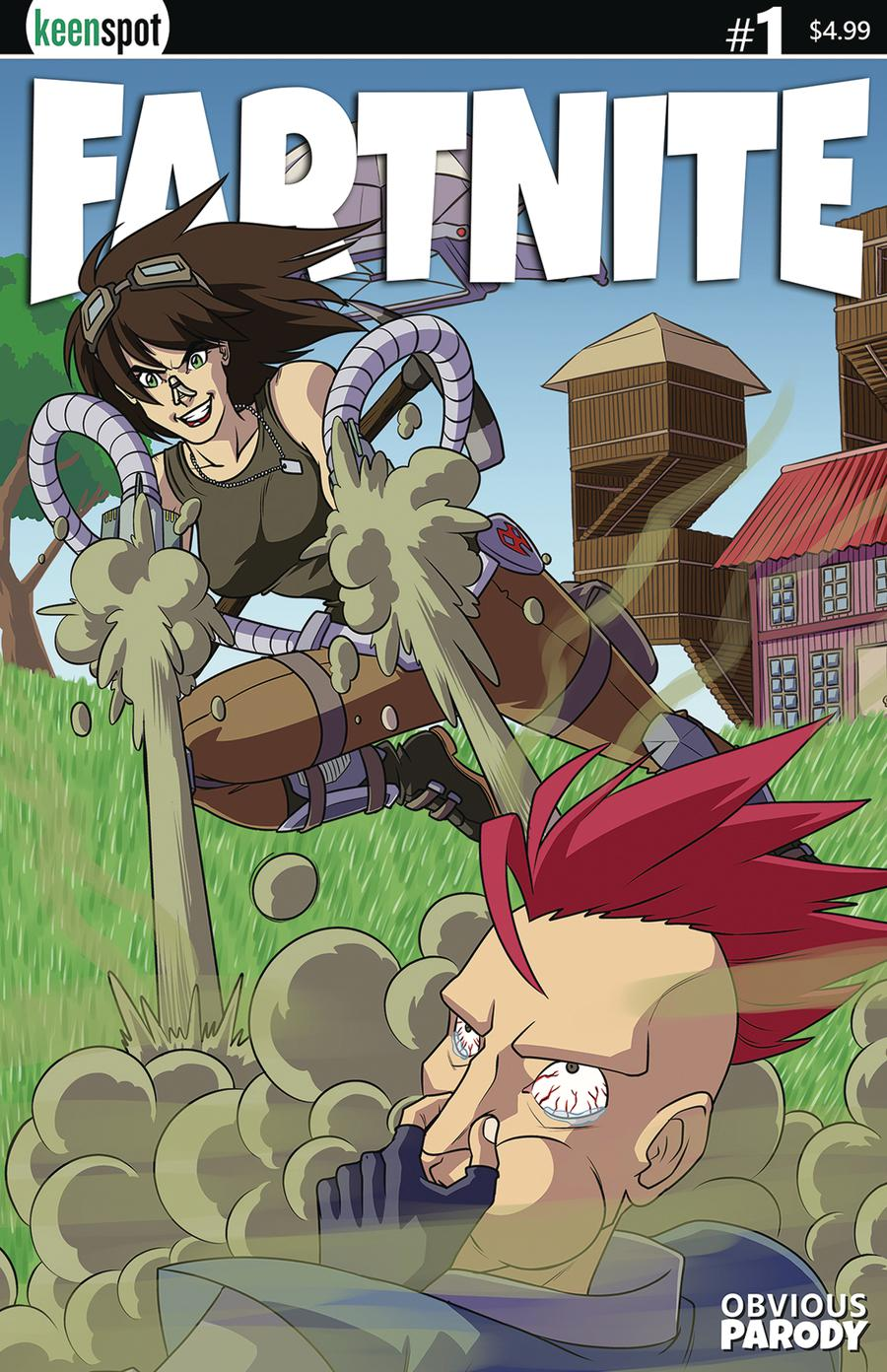 Fartnite #1 Cover D Variant Remy Eisu Mokhtar Blown Away Cover