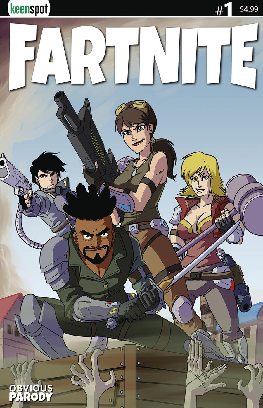 Fartnite #1 Cover E Variant Remy Eisu Mokhtar Box Art Cover