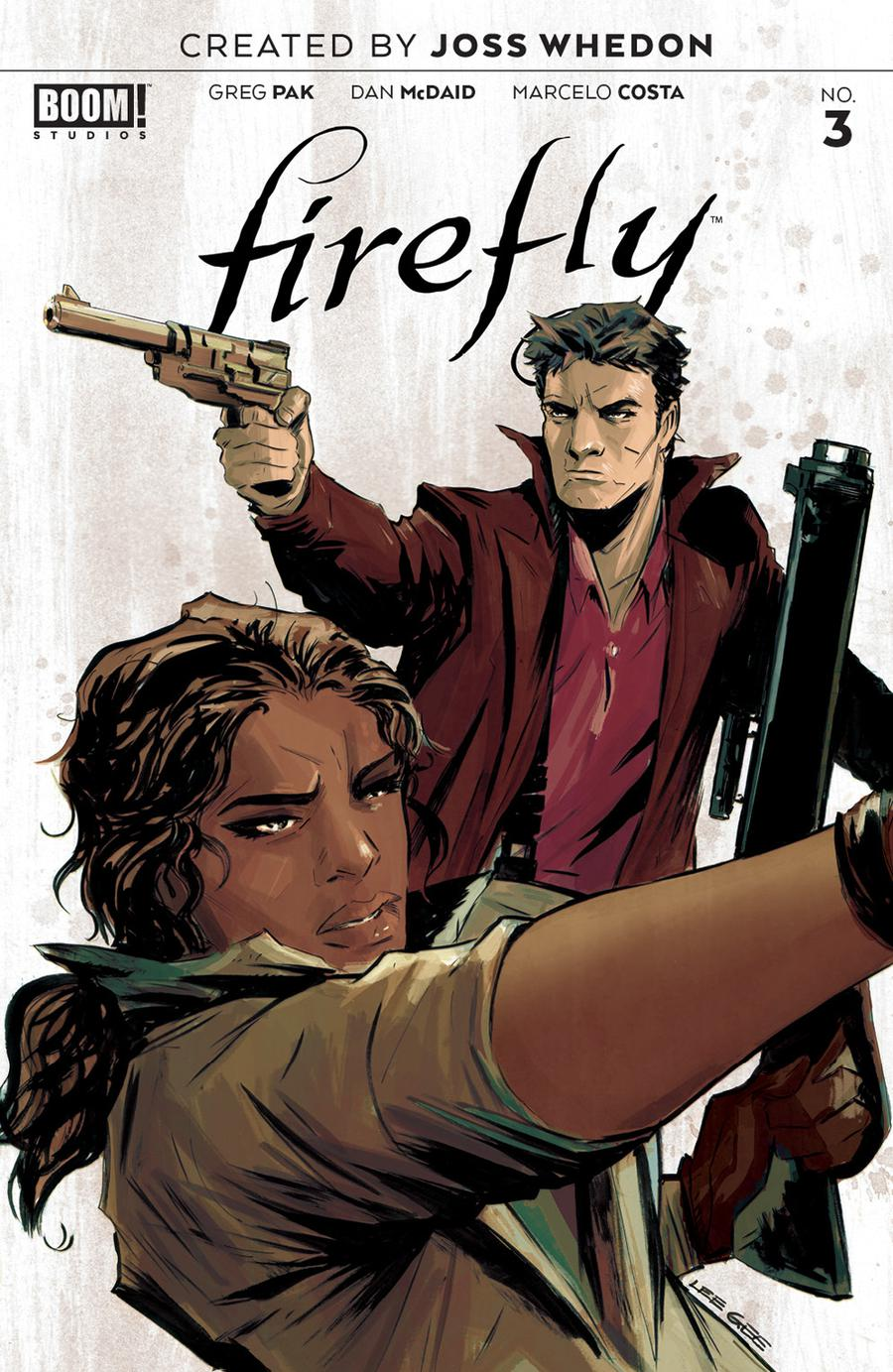 Firefly #3 Cover A 1st Ptg Regular Lee Garbett Cover
