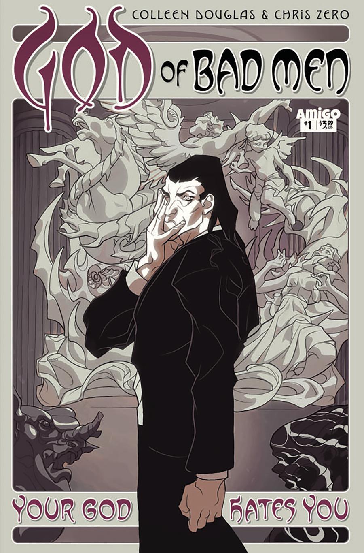 God Of Bad Men #1 Cover A Regular Chris Zero Cover