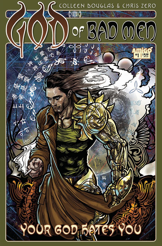 God Of Bad Men #1 Cover B Variant David Bircham Cover