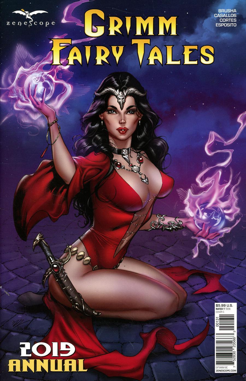 Grimm Fairy Tales Annual 2019 Cover C Michael Dooney - Midtown Comics