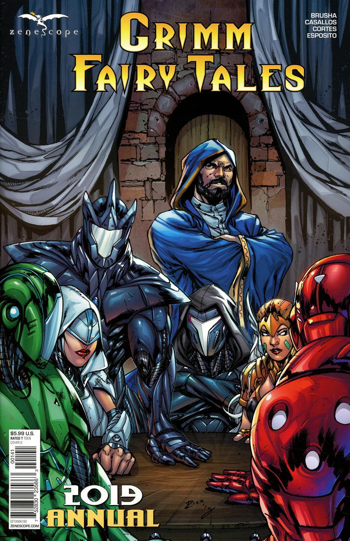 Grimm Fairy Tales Annual 2019 Cover D Ian Richardson