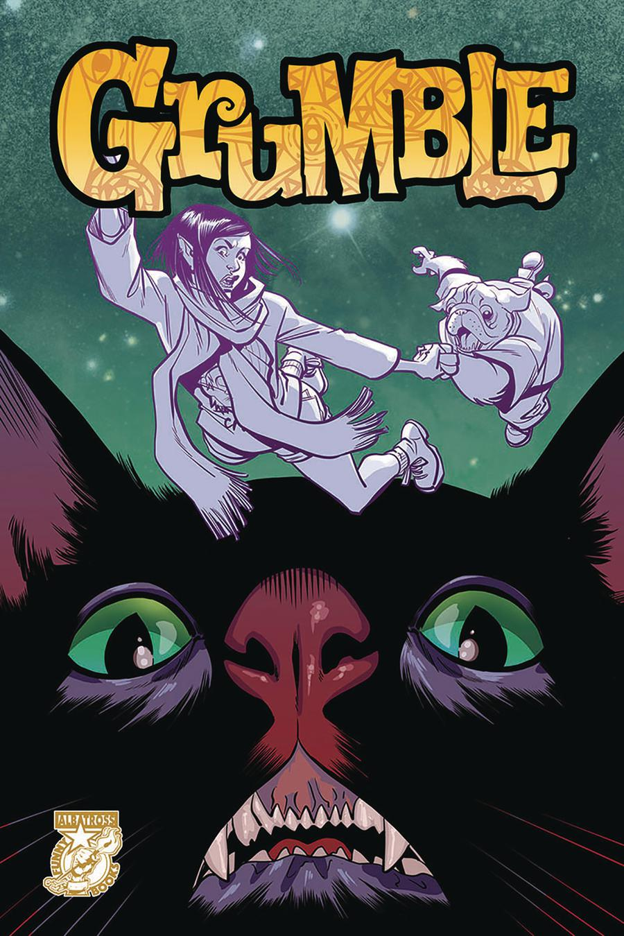 Grumble #3 Cover A Regular Mike Norton Cover