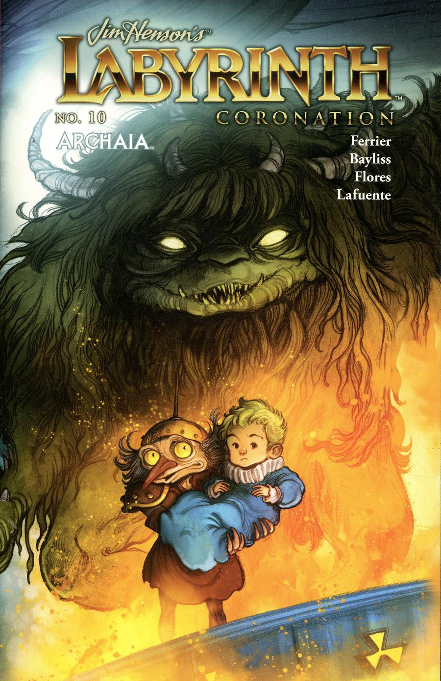 Jim Hensons Labyrinth Coronation #10 Cover B Variant Cory Godbey Preorder Cover