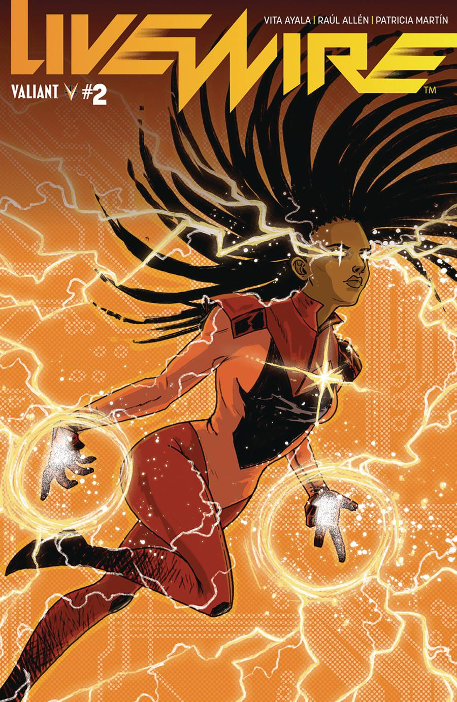 Livewire #2 Cover B Variant Megan Hutchison Cover