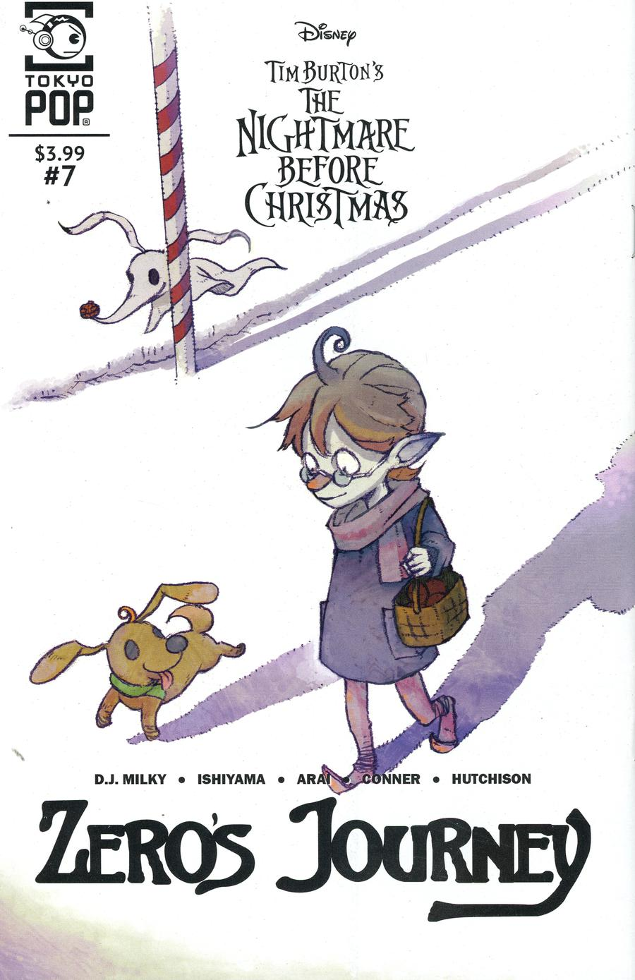 Nightmare Before Christmas Zeros Journey #7
