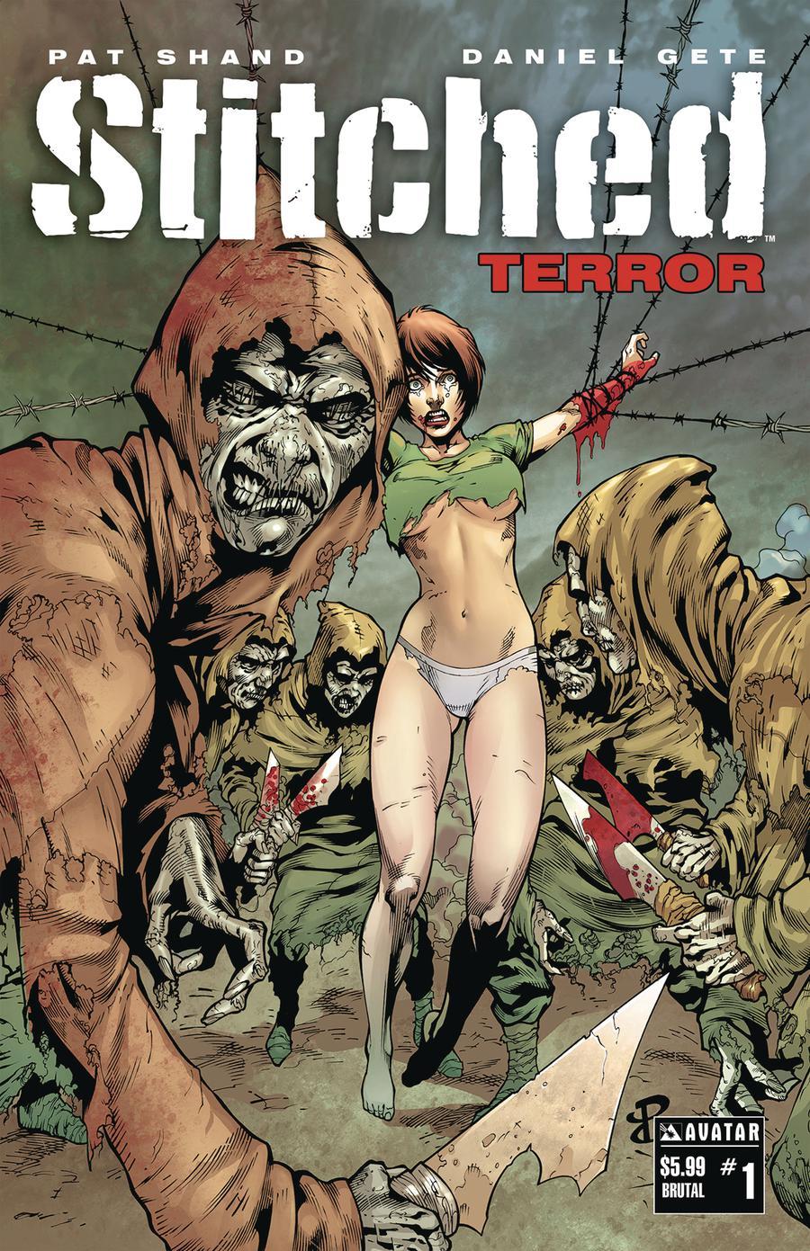 Stitched Terror #1 Cover E Brutal Cover