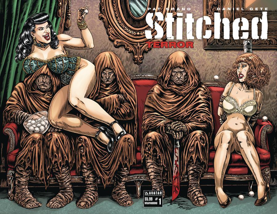 Stitched Terror #1 Cover B Wraparound Cover