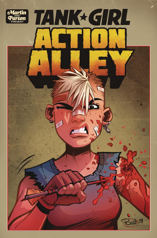 Tank Girl Vol 3 #2 Action Alley Cover A Regular Brett Parson Cover