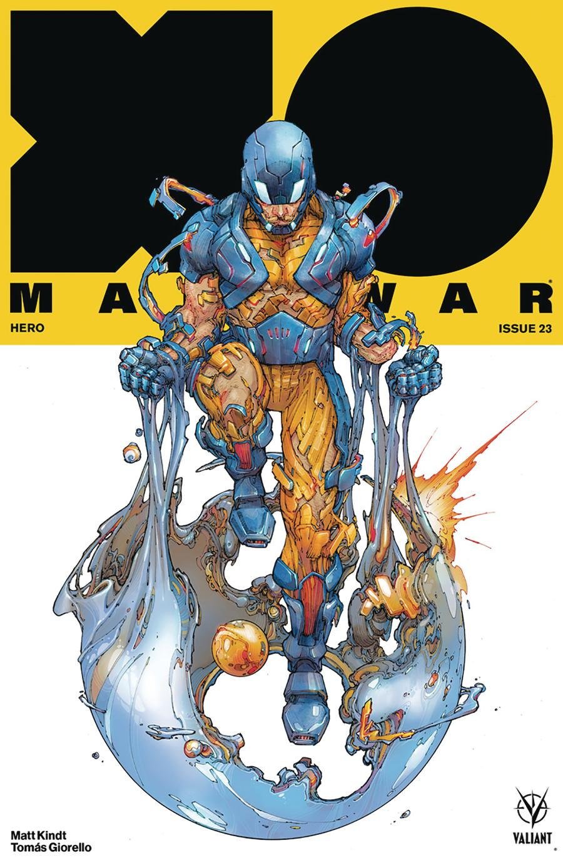 X-O Manowar Vol 4 #23 Cover A Regular Kenneth Rocafort Cover