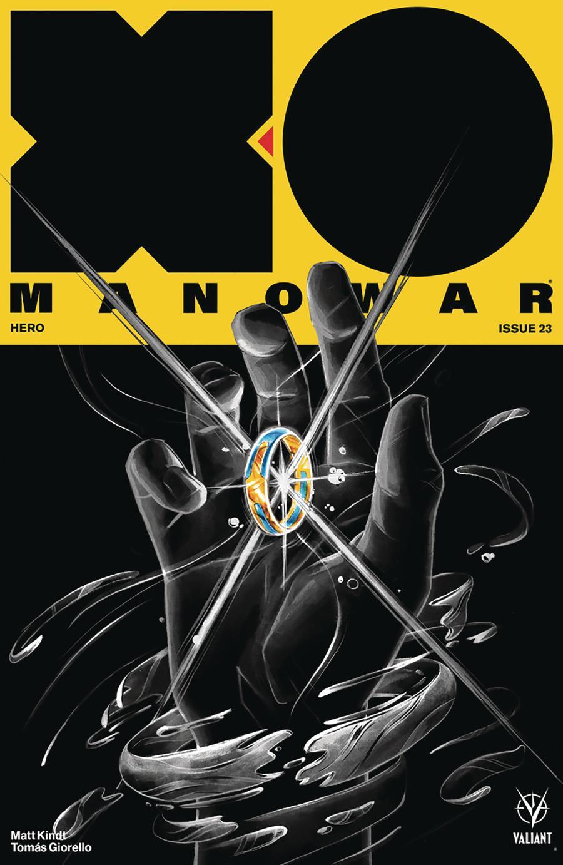 X-O Manowar Vol 4 #23 Cover C Variant Michael Manomivibul Cover