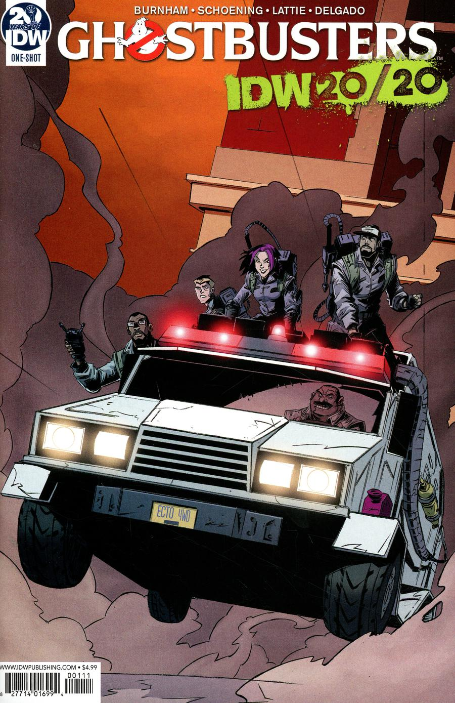 Ghostbusters IDW 20/20 Cover A Regular Dan Schoening Cover
