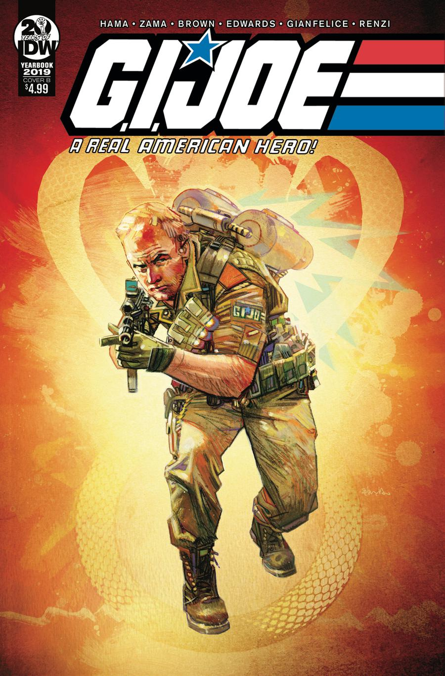 GI Joe A Real American Hero Yearbook 2019 Cover B Variant Tommy Lee Edwards Cover