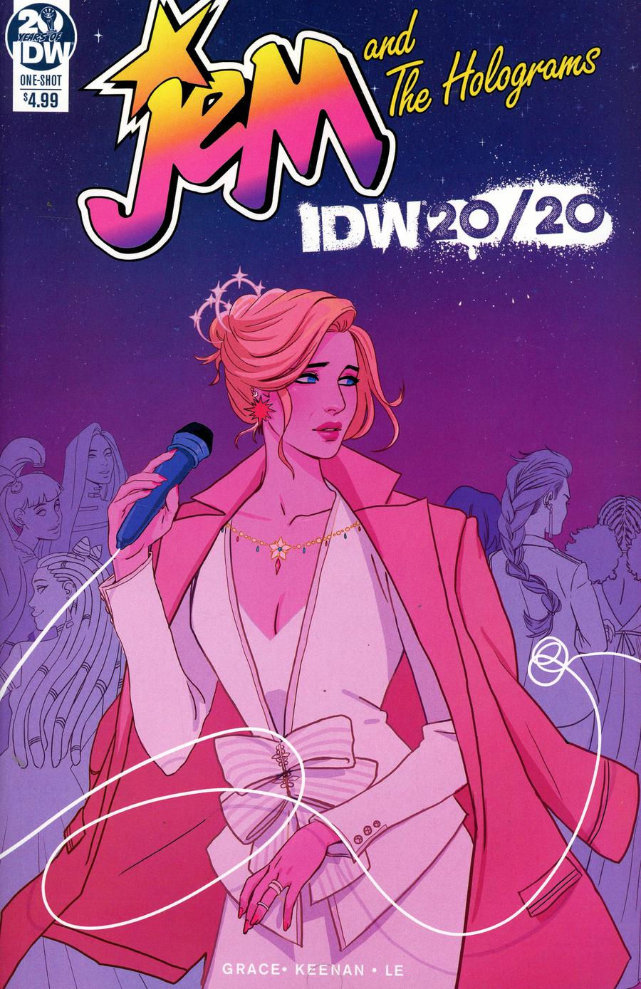 Jem And The Holograms IDW 20/20 Cover A Regular Siobhan Keenan Cover